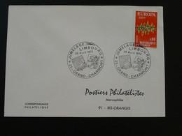 Jumelage Limbourg Grand Charmont Oblitération Sur Lettre Postmark On Cover 25 Doubs Europa 1972 - Europa-CEPT