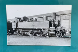 Locomotive Etat 32 024 - Photo Sotteville - Années 1930 - France Normandie Train Avant SNCF - Treinen