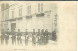 Cpa 75 Paris , Fort Chabrol , Non Voyagée Dos Non Divisé - Sciopero