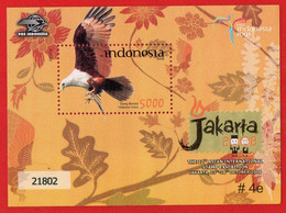 Indonesia 2008 SS. Road To Jakarta 2008 - 22nd Asian International Stamp Exhibition #4e - Indonesia