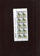 Belgie Andre Buzin Birds 4042 Verkiezingen Elections In Velletje Van 10 Plaatnummer 1 Wit Blinkende Gom RRRR - 1985-.. Pájaros (Buzin)