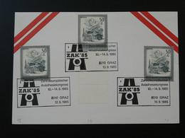 Medecine Congres Anesthesiologie Oblitération Postmark Graz Autriche Austria 1985 (ex 1) - Medicina