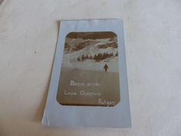 1186 - CPA SUISSE , Carte-photo , Bonne Année Louis Chappuis, Frutigen, Skieur De Fond - BE Berne