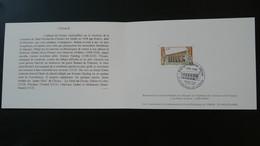 Petit Encart FDC Abbaye De Citeaux Saint Bernard Medieval 21 Côte D'Or 1998 - Abbeys & Monasteries