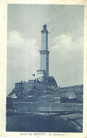 "9616"" SALUTI DA GENOVA-LA LANTERNA ""-VERA FOTOGRAFIA-CARTOLINA SPEDITA1922 - Genova (Genoa)"