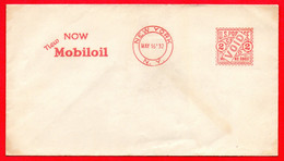 1932-USA MOBILOIL -SPECIMEN METER STAMP EMA FREISTEMPEL AFFRANCATURA MECCANICA - Erdöl