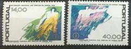 Convention Européenne Des Droits De L'homme De 1953 Série Complète 2 Tp Neufs MNH ** - Unclassified