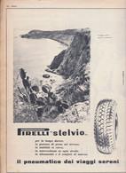 (pagine-pages)PUBBLICITA' PIRELLI    Oggi1952/33. - Other
