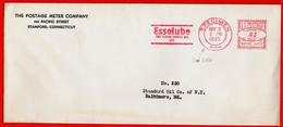 1935-USA ESSOLUBE MOTOR OIL - SPECIMEN METER STAMP EMA FREISTEMPEL AFFRANCATURA MECCANICA - Erdöl