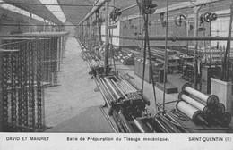 SAINT QUENTIN Salle De Préparation Du Tissage Mécanique DAVID ET MAIGRET - Saint Quentin