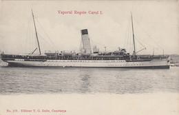 Constanta -  Vaporul  REGELE  CAROL I. , Schiff , Boat , Bateau - Roemenië