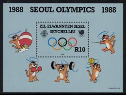 Jeux Olympiques // Séoul 1988 // Seychelles // Bloc-feuillet , Timbre Neuf** MNH - Ete 1988: Séoul