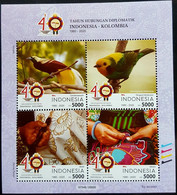 INDONESIA - KOLUMBIA JOINT ISSUE 2020 (NEW ISSUE ) - Indonesia