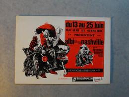 ALBI  -  1er Festival De Country Musique   -  Conception Graphique J. TROUVE  -  Tarn - Albi