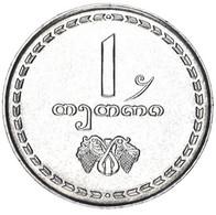 Georgia 1 Tetri 1993 F-VF (KM # 76) - Georgië