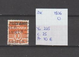 Denemarken 1936 - Yv. 235 - Mi. Pakket 16 Gest./obl./used - Usati