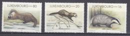 LUXEMBOURG 1996 Fauna Animals Mi 1400-1402 MNH(**) #25504 - Ohne Zuordnung