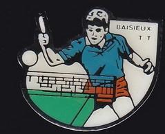 67662-Pin's.Tennis De Table. Baisieux. Nord En Région Hauts-de-France. - Table Tennis