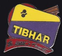 67666-Pin's.Tennis De Table.TIBHAR.signé Démons Et Merveilles - Table Tennis