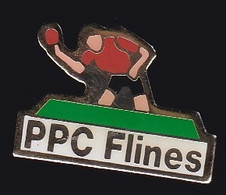 67668-Pin's.Tennis De Table.ping-pong Club Flinois (PPC Flines) - Table Tennis