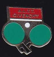 67673-Pin's.Tennis De Table.ALTT.Givenchy.Parfum. - Table Tennis