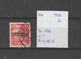 Denemarken 1936 - Yv. 236 - Mi. Pakket 17 Gest./obl./used - Usati