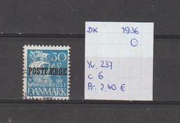 Denemarken 1936 - Yv. 237 - Mi. Pakket 18 Gest./obl./used - Usati