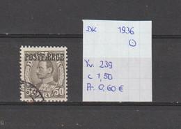 Denemarken 1936 - Yv. 239 - Mi. Pakket 20 Gest./obl./used - Usati