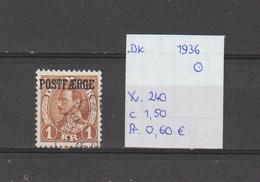 Denemarken 1936 - Yv. 240 - Mi. Pakket 21 Gest./obl./used - Usati