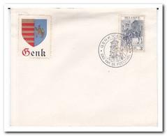 België 1964, Genk Centrum, Day Of The Stamp - Belgium