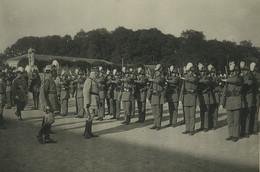 France Marechal Petain Ecole Militaire De Saint Cyr Revue Manoeuvres Ancienne Photo 1927' #1 - Guerra, Militares