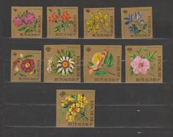 Burundi 1966 Flowers Airmail Imperforate/ND MNH/** - 1962-69: Ongebruikt