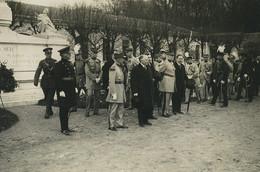 France Visite Des Cadets De Sandhurst à L'Ecole Militaire De Saint Cyr Ancienne Photo 1928' #15 - Guerra, Militares