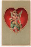 DC4321 - Engel Im Herz, Sehr Schöne Prägekarte - Angeli