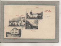 CPA - (68) MOOS - MOOSCH ? - Carte GRUSS Multivues Rare De 1900 - Other Municipalities