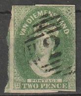 Tasmania Van Diemens Land N° 11 Filigrane 2 - Usati