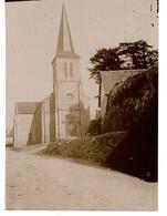 PHOTO (10,5x 8cm Env.) -DOMFRONT, église Village Proximité ???? - Plaatsen