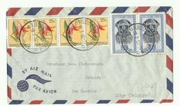 Lettre Par Avion De KINDU PORT EMPAIN Le 18-7-1952 Vers Liège - 16305 - 1947-60: Lettres