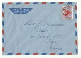 Lettre Par Avion De KISENGE Vers Liège - 16307 - 1947-60: Lettres