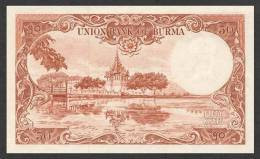 BURMA P. 50a 50 K 1958 UNC - Myanmar