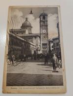 Savona Via Verzellino Col Campanile Della Cattedrale - Savona