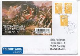 France - Cover Sent To Denmark. H-1705 - Francia
