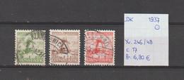 Denemarken 1937 - Yv. 246/48 - Mi. 234/36 Gest./obl./used - Usati