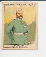 Chromo Chocolat Pupier Allemagne Von Hindenburg 138/24Y - Altri