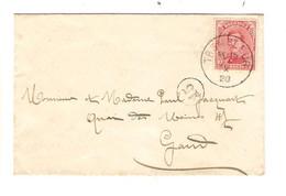 REF2018/ TP 138 S/L CV C.Trembleur 8/10/1920 > Gand C.facteur 15 En Arrivée - Brieven En Documenten