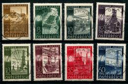 5355) MiNr.: 803-810  Stempel Graz - 1945-60 Used