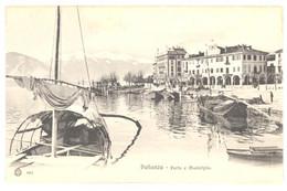CPA Italie - PALLANZA - 681. Porto E Municipio - Verbania