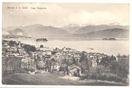 CPA ITALIE - 14512. STRESA E LE ISOLE - Lago Maggiore - Verbania