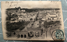 CPA - ALGÉRIE - MASCARA - Vue Générale Bab Ali - Andere Städte