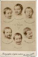 """PHOTO (16,4x10,8cm Env.) - Photographie D'après Nature POULTON ET FILS-"""" Le Dessert """" - Oud (voor 1900)"""